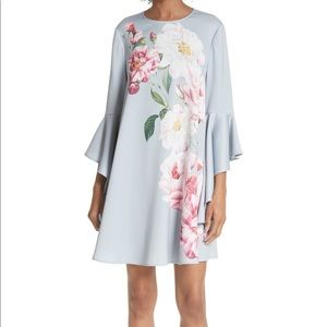 NWOT Ted Baker London bell sleeves dress